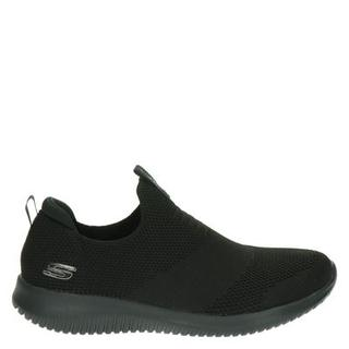 Stretch Knit lage sneakers zwart