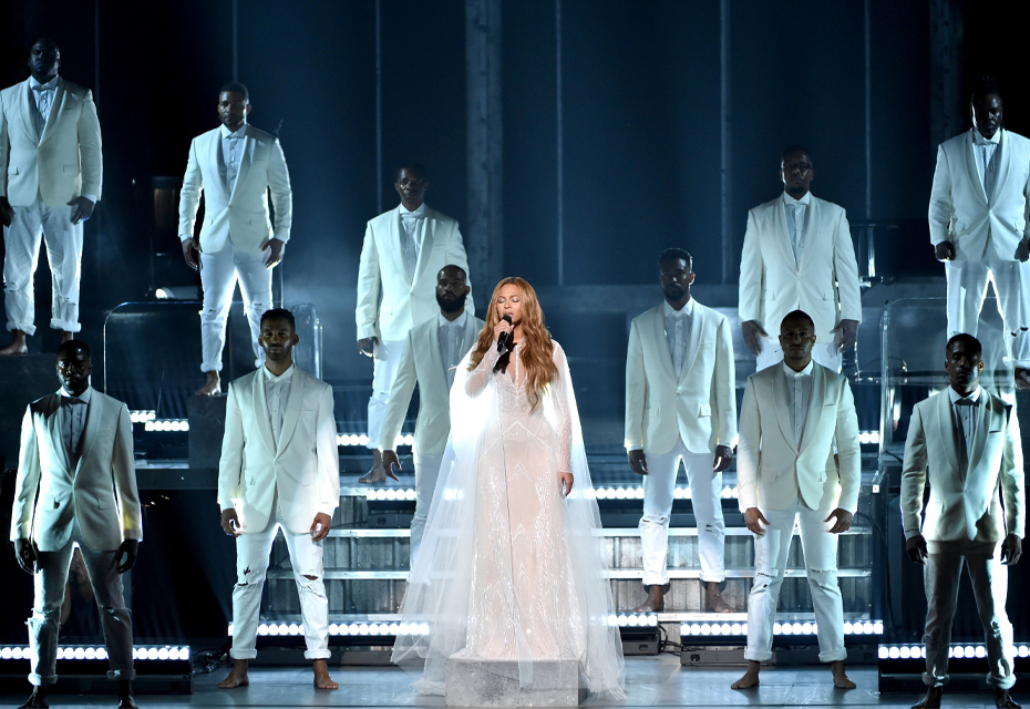 Beyonce The Grammy's 2015