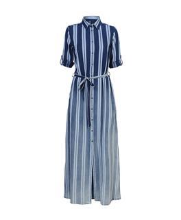 Donkerblauwe Maxi Jurk.Blauwe Maxi Dress Online Kopen Fashionchick Nl