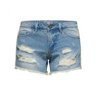 Only Carrie low destroyed Denim short