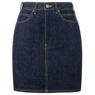 Calvin Klein 205W39nyc mini denim skirt - Blue