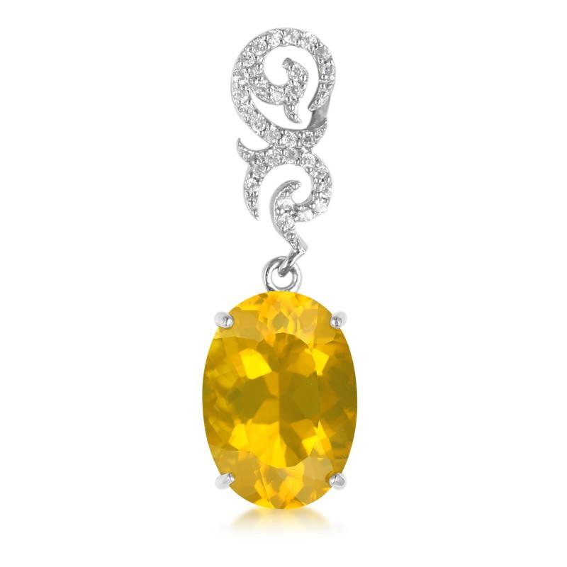 Juwelo Gouden hanger met een Buriti vuur opaal Kopen Goedkope Websites b6eKsrqCs