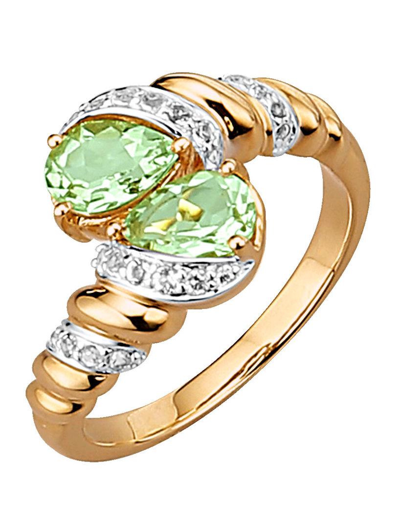 Diemer Farbstein Damesring met gekleurde stenen groen Met Paypal Kopen Goedkope Browse korting Goedkope Koop 2018 DBqvqnptC5