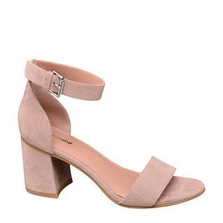 sandalettes lichtroze