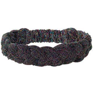 Haarband. Vlecht. Glitter. Multicolor.