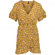 YELLOW FLOWER DRESS-XL