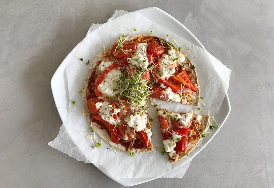 Gezond pizza recept