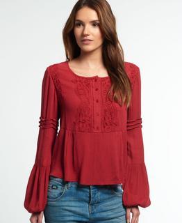 Kanten Roswell blouse