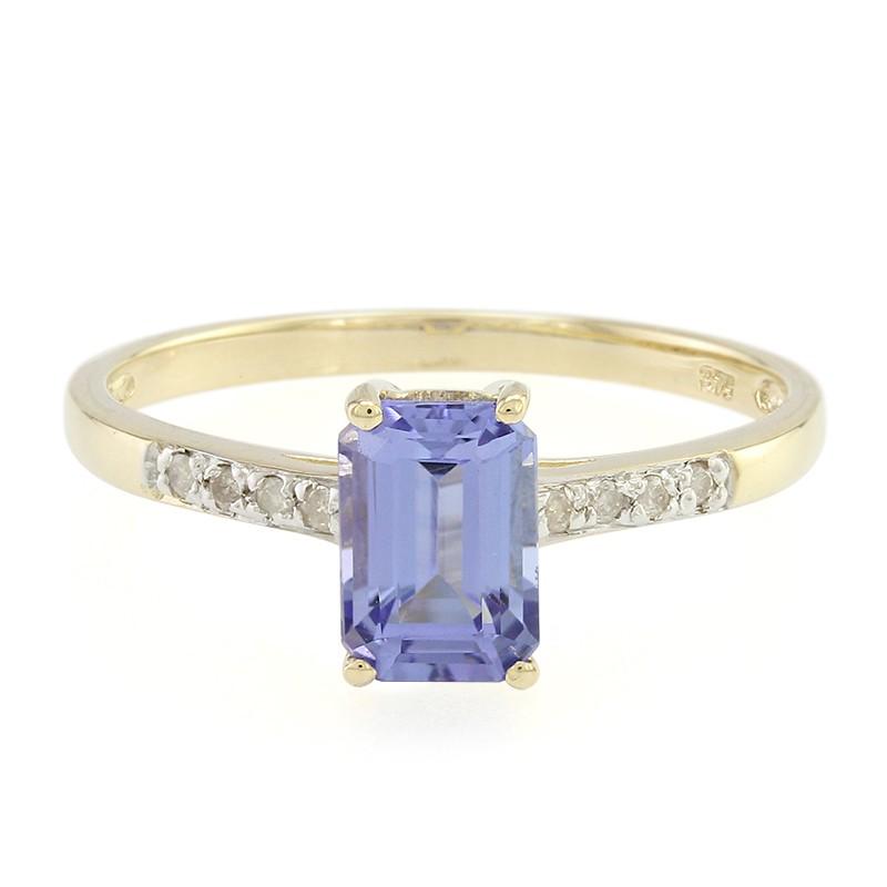 Juwelo Gouden ring met een tanzaniet Goedkope Koop Op Zoek Naar Korting Klaring Goedkoop Voor Sfeervolle Goedkope Koop Footlocker N6Igc