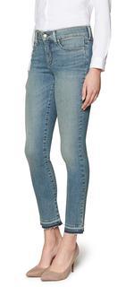 Slim Ankle in mediumblauw premium denim