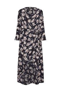 Zomerjurk 'Floral Wrap Maxi Dress'