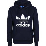 adidas Trefoil Logo W Hoodies hoodie blauw blauw