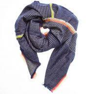 Scarf with a Neon Edge