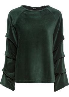 Dames shirt lange mouw in groen