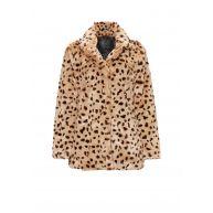 Goosecraft Gallery 152 fake fur jas met luipaardmotief