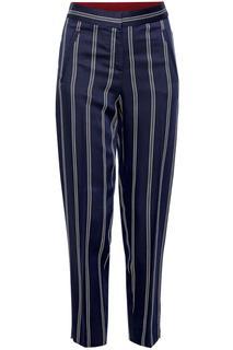 7/8 pantalon met strepen | Chino Slim Medium Rise