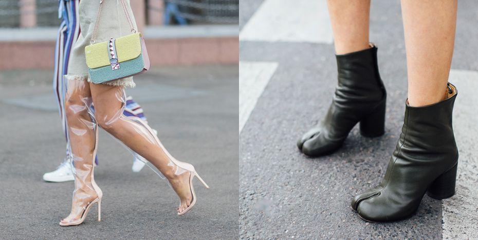 Onbegrijpelijke schoenentrends