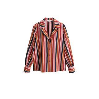 blouse met streep dessin (dames)