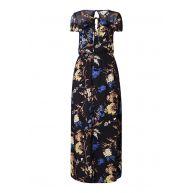 Phase Eight Manoela maxi-jurk met bloemendessin en volant