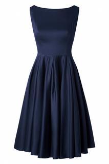The Ursula Swing Dress in Night Blue