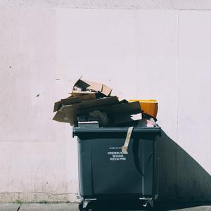 Minder afval
