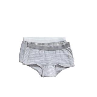shorts Stripe and light grey melee 2 pack maat 98/104