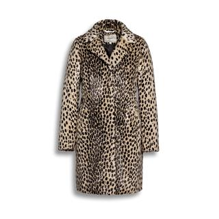 Cheetah fur coat