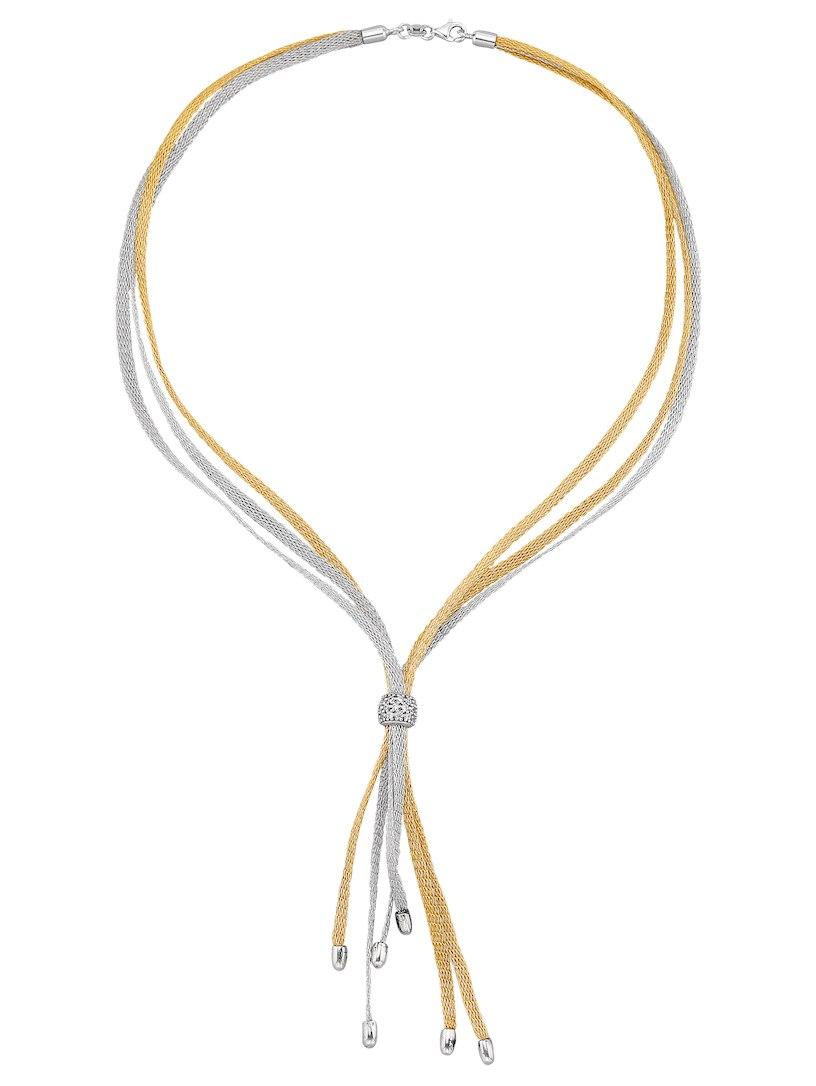 Klingel 3-rijig Y-vormig collier bicolor Goedkope Koop Gloednieuwe Unisex Korting Te Koop echt Grote Verkoop Te Koop Online Winkel h0Bdr5O