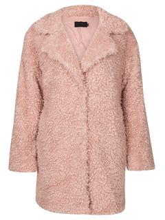 Teddy Coat Pink