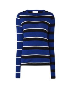 Pullover met ingebreid streepdessin
