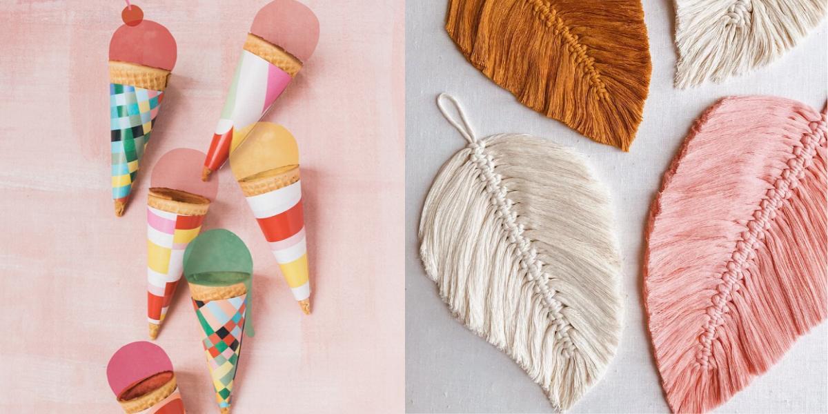 4 x DIY-borden op Pinterest