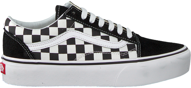 Sneakers Zwarte Old Skool Vans Platform 0wPkX8nO