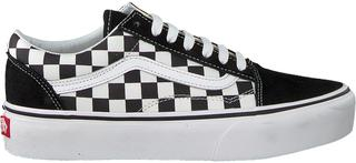 Zwarte Sneakers Old Skool Platform