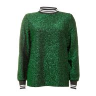 Sisters Point Sweat Groen VABER-STRIPE