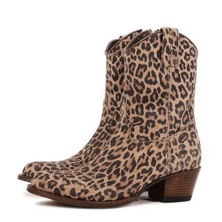 15952 boots met panterprint