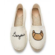 Fabienne Chapot Schoenen Espadrilles Canvas Embroidery Beige