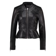 Vero Moda VMPALOMA Imitatieleren jas black