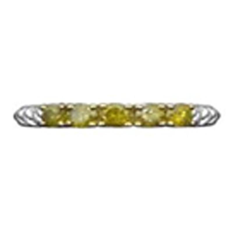 Juwelo Zilveren ring met gele diamanten betaalbare Verkoop Finish 0VocPTERPz