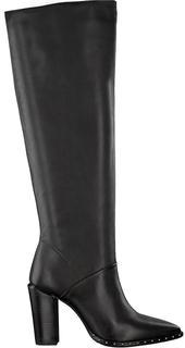 Zwarte Hoge Laarzen 14141