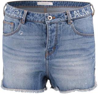 Korte Spijkerbroek Blauw