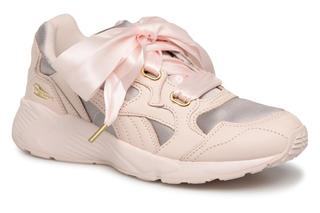 Sneakers Prevail Heart Satin Wn's by