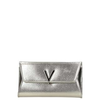 Divina Flash clutch argento