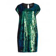 Sequin front dress