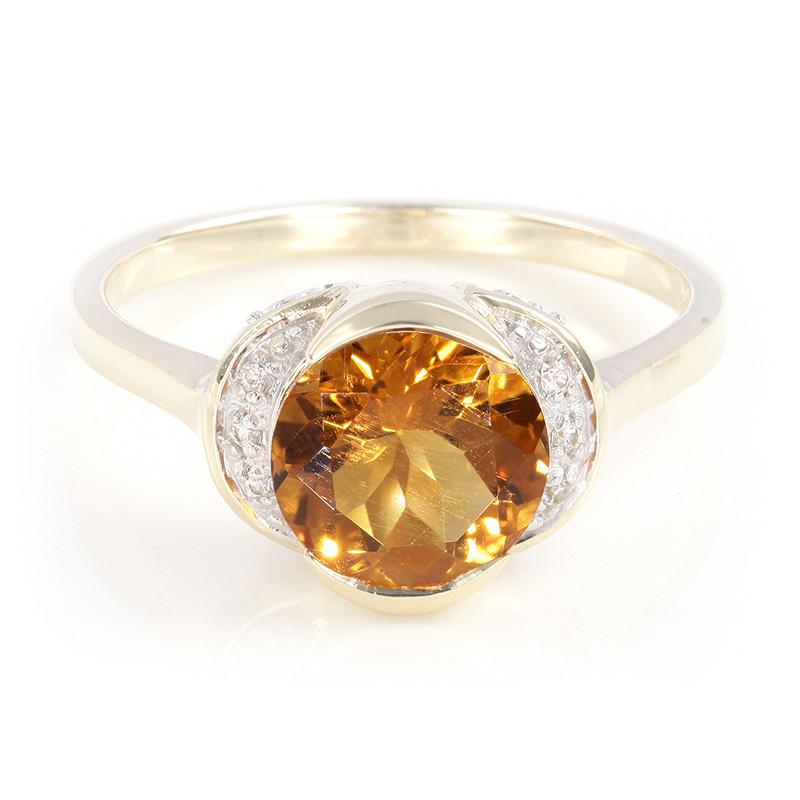 Anello Di Oro Juwelo Con Citrino Madera c7wIaTHD