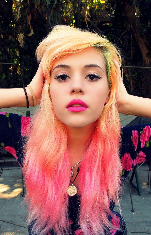 Lipstick color pink