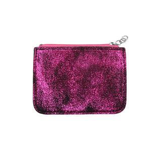 Pink Small Glitter Wallet