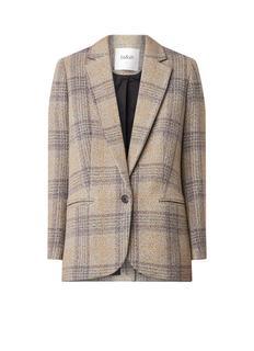 Leto oversized blazer van wol