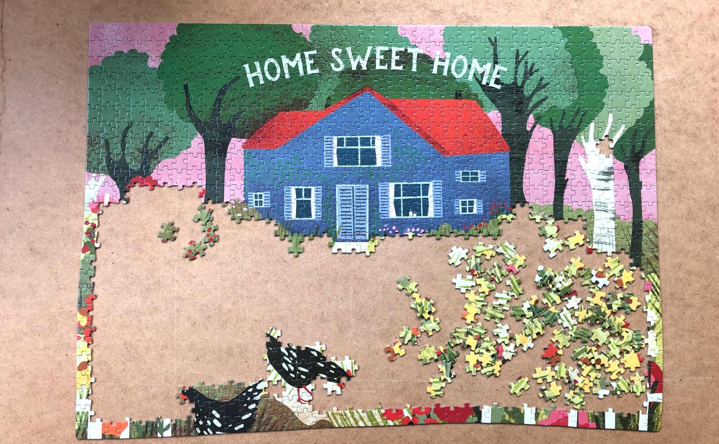 legpuzzel home sweet home flow marjolijn