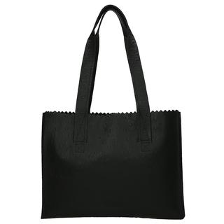 My Paper Bag Handbag shopper ostrich black