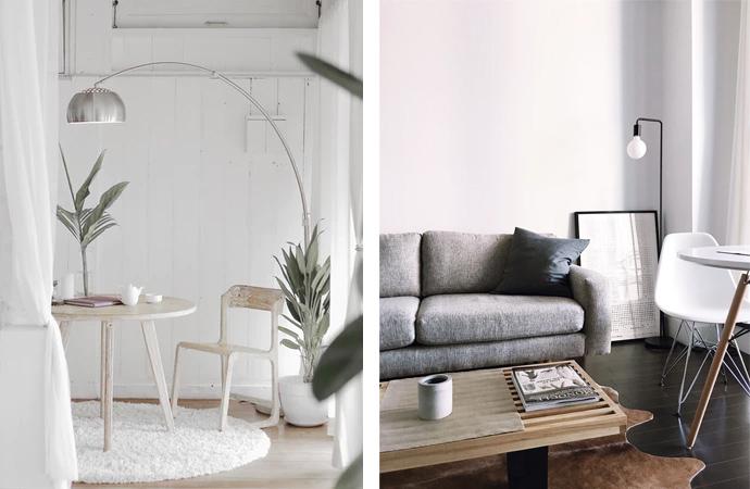 Scandinavisch, interieur, inspiratie